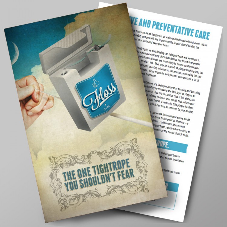 Don't Fear The Floss Flyer Pack