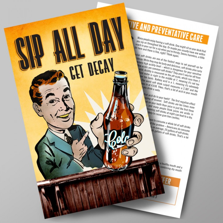 Sip All Day Flyer Pack